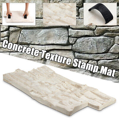 Slate Seamless Texture Polyurethane Stamp Mat Concrete Cement Stone Wall Mat