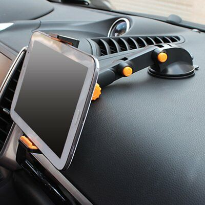 "360° Car Windshield Mount Holder For 7-11"" iPad Mini/2/3/4/Air iPhone Tablet GPS"