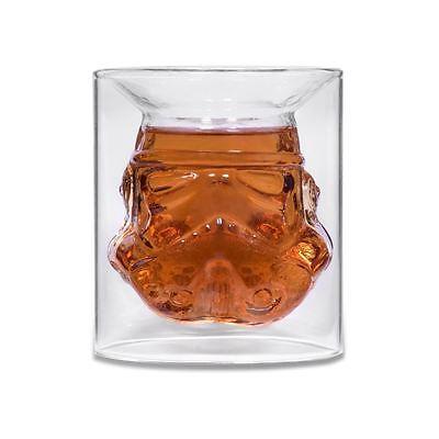 Star Wars Shepperton Design Original Stormtrooper Helmet Small Glass Tumbler Cup