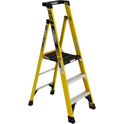 New Werner - Pd7303 - Fiberglass Podium Ladder Type Iaa Rating