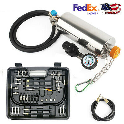Fuel Injection System Cleaning Cleaner Machine Throttle Tool Kit Fo GX100 140PSI