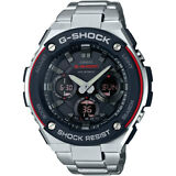 Casio G-Steel Men's GSTS100D-1A4 Tough Solar Super Illuminator 52.5mm Watch