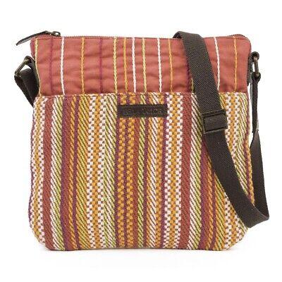 Women Boho Crossbody Messenger Bag Canvas Travel Purse Pocke
