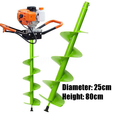 31.5 Auger Post Hole Digger Bit Manganese Steel 6 Inch Wide Skid Steer