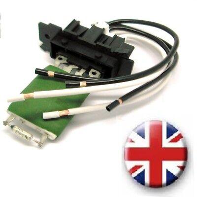 Fiat Evo Ducato Heater Blower Resistor AND Wiring Harness Loom repair kit plug