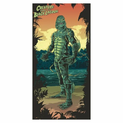 Universal Monsters Creature From The Black Lagoon Beach / Bath Towel New Horror