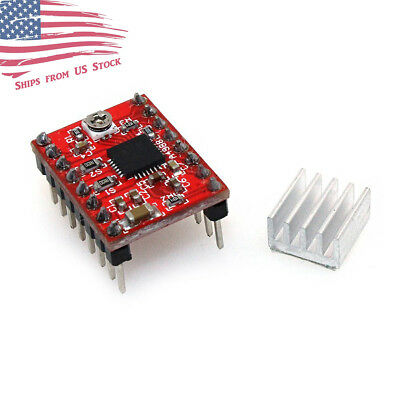 A4988 Stepper Motor Driver Module For 3d Printer Reprap Stepstick Arduino Us