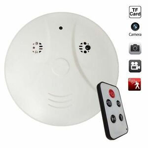 32gb versteckte spycam mini kamera rauchmelder feuermelder. Black Bedroom Furniture Sets. Home Design Ideas