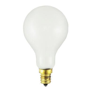 60A15-130V-CS-W - Volts: 130V, Watts: 60W, Type: A15 Fan - Glass 60w Type