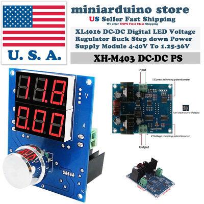 Xh-m403 Digital Voltage Regulator Xl4016 Pwm Buck Step Down Power Supply Board