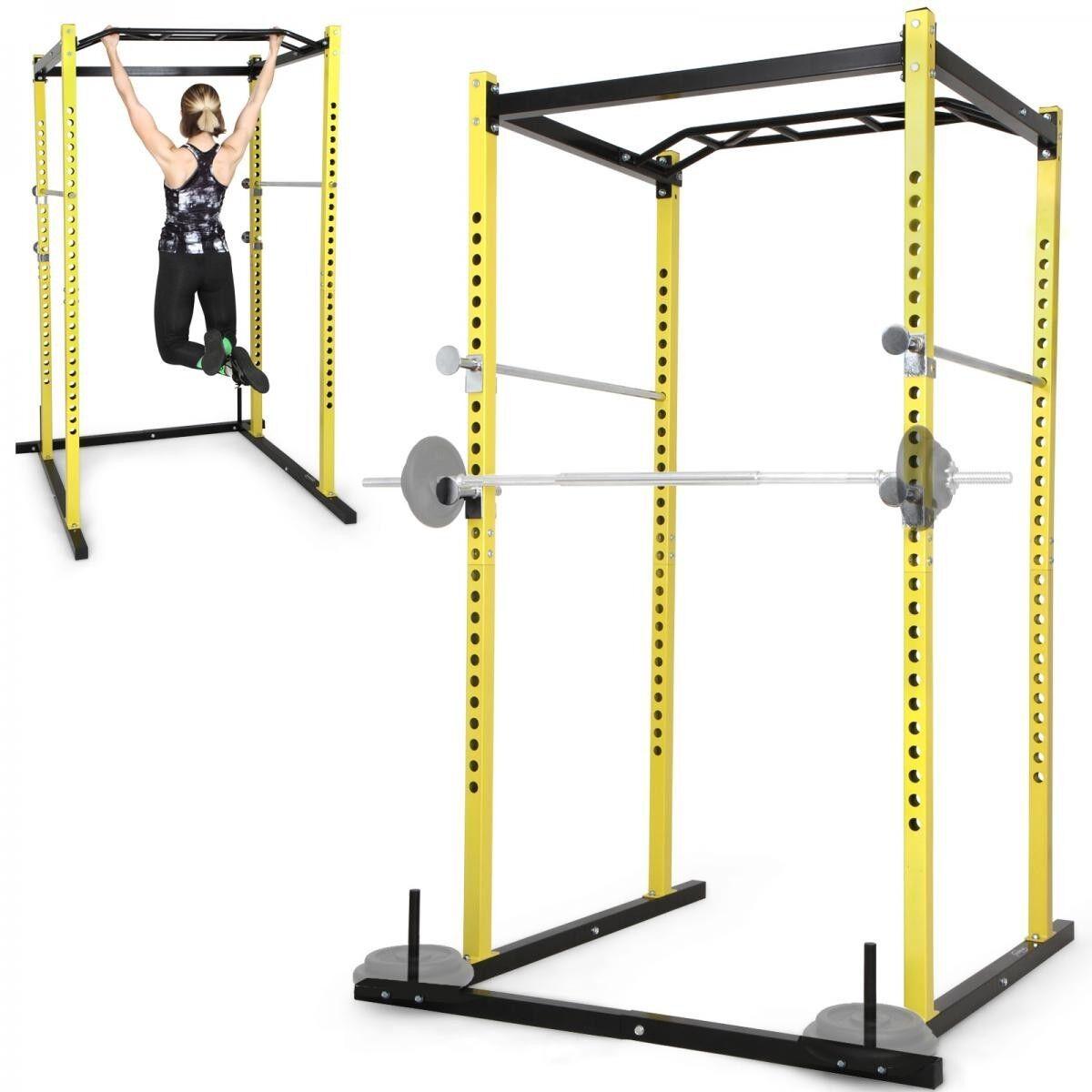 Power Cage Squat Rack Multipresse Stahl Kraftstation Fitnessstation