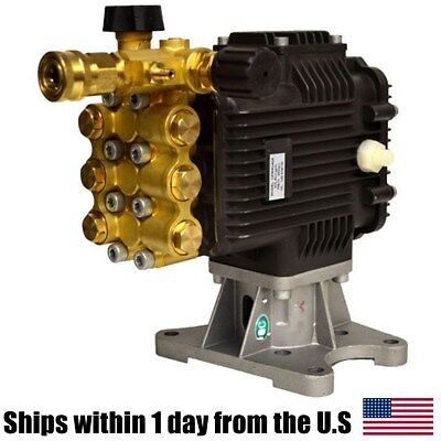 """Pressure Washer Pump 4000PSI 4GPM 1"""" Horizontal Shaft RSV4G40 Anonovi Revereri"""