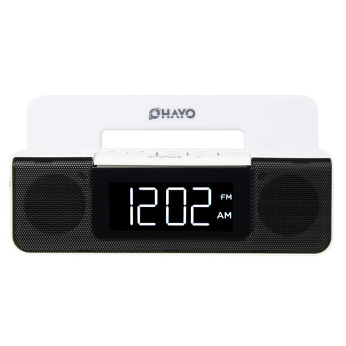 digital fm radio dual alarm clock usb phone charger w sleep timer 87 5 108 mhz ebay. Black Bedroom Furniture Sets. Home Design Ideas