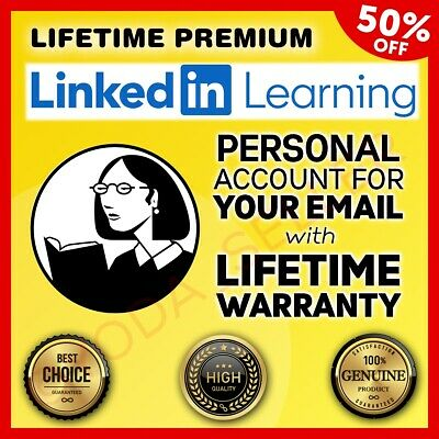 Lynda Premium Linkedin Learning Udemy 2020 Lifetime Fast Delivery