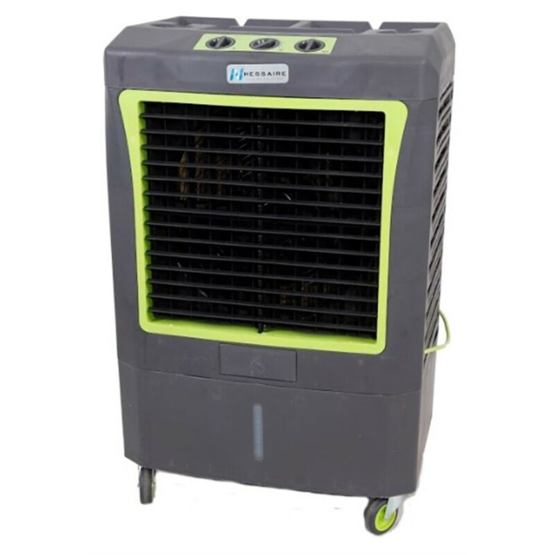 Hessaire M250 Compact Portable 5,300 CFM Indoor/Outdoor Gray Evaporative Cooler