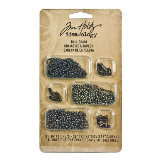 Tim Holtz Idea-ology - Findings - Ball Chain Attachment for Mixed Media