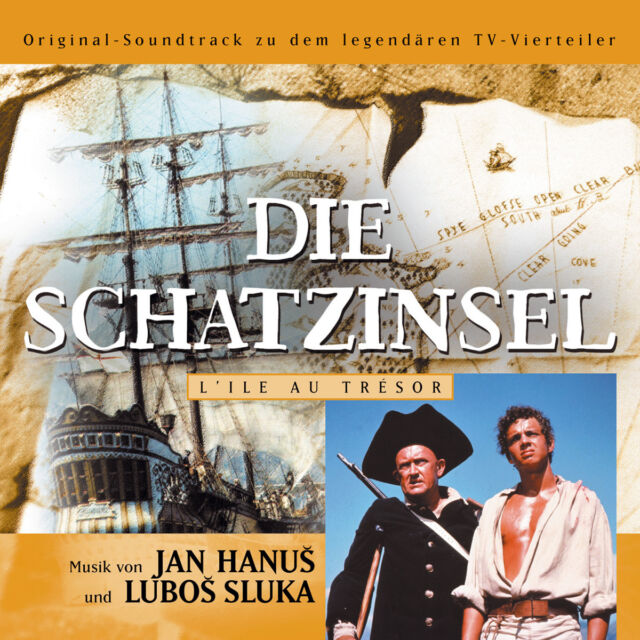 DIE SCHATZINSEL Original Soundtrack CD NEU / Jan Hanus / Lubos Sluka