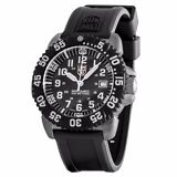 Luminox Men's 3151.BTOB Navy Seal Colormark Black Dial Steel Rubber Watch