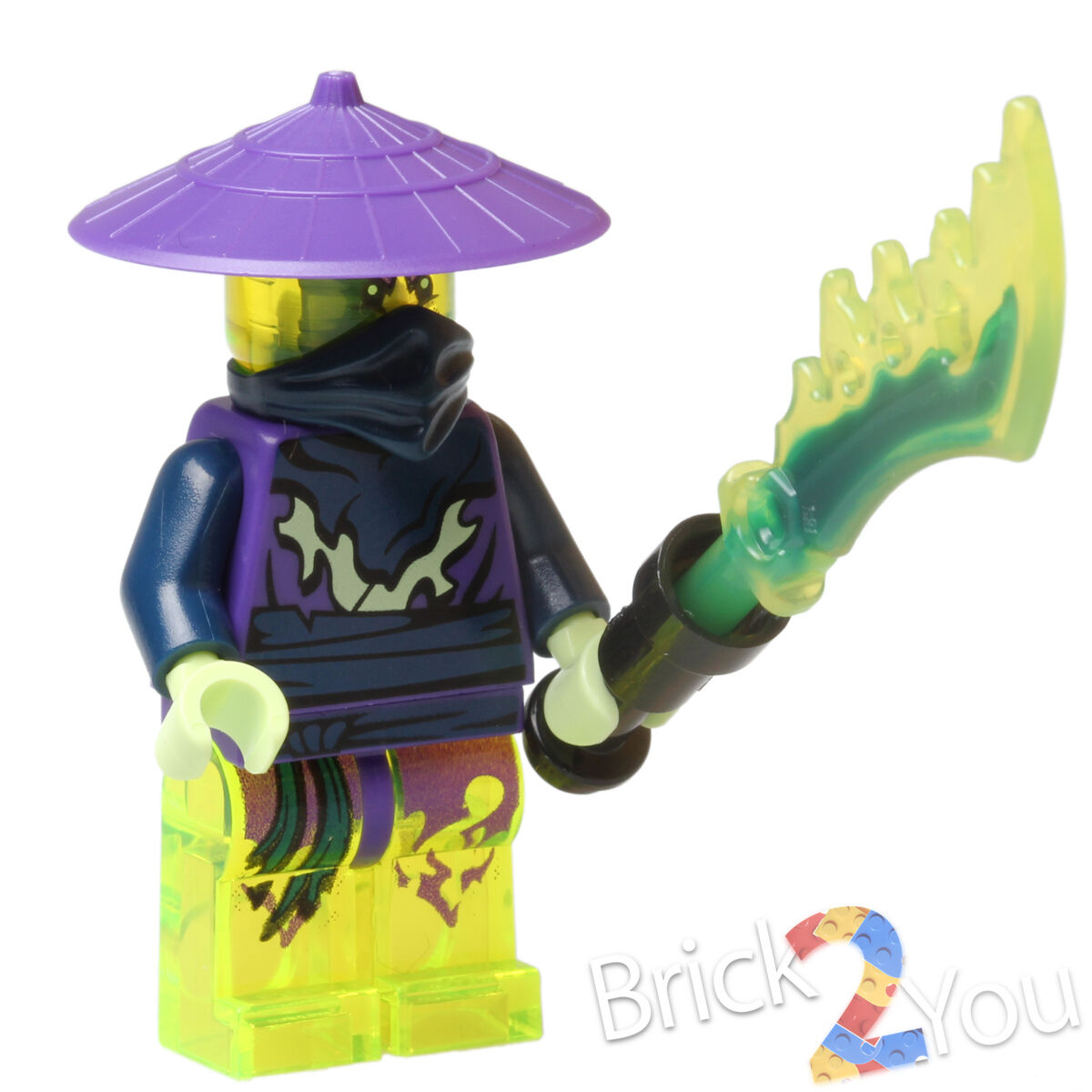 NINJAGO lego GHOST WARRIOR COWLER cursed realm GENUINE 70736 with scabbard NEW