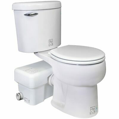 Liberty Pumps Ascentii-rsw - 12 Hp Complete Toilet Macerator System Round B...