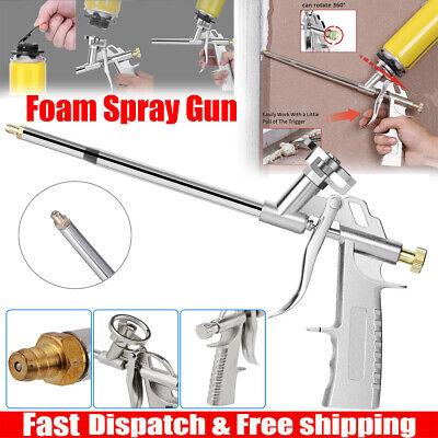 Foam Spray Gun Expanding Polyurethane Tool Metal Insulating Filling Sealing Gaps