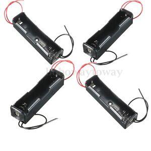 4pcs porta batterie 1x18650 stilo aa batteria case holder for Porta batteria 9v