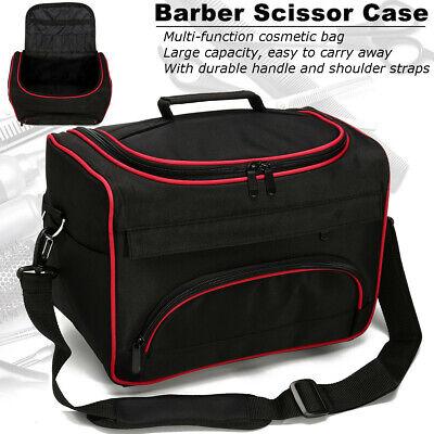 Professional Hair Stylist Salon Barber Hairdressing Scissors Combs Tools Bag UK