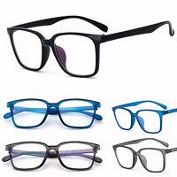 Fashion Men Women Square Full Frame Clear Lens Glasses Pc Eyewear Frame Eyeglass - unbranded/generic - ebay.co.uk