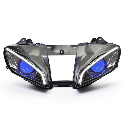 For Yamaha YZF R6 2008-2016 LED Headlight Assembly V2 Blue