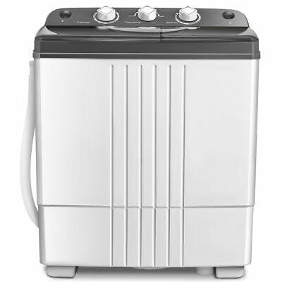 20lbs Compact Mini Portable Twin Tub Washing Machine Washer Spain Spinner