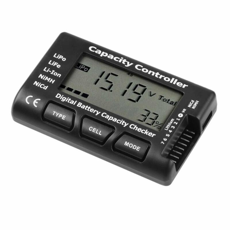 1-7S Battery Capacity Tester Voltage Checker Controller LCD Digital Cell Meter