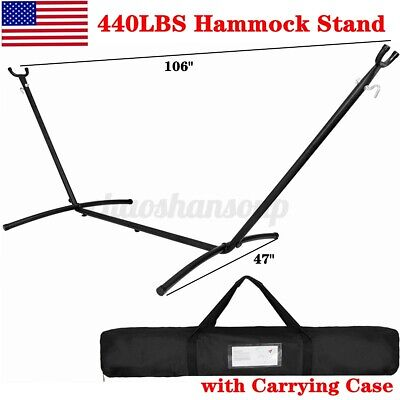 Hammock Stand Heavy Duty Portable Steel Stand for Hanging Ch