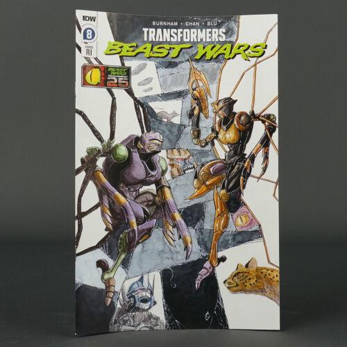TRANSFORMERS BEAST WARS #8 RI 1:10 IDW Comics 2021 JUL210498 8RI (CA) Miller