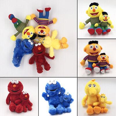 Sesame Street Classic Plush Stuffed Animal Toy Kids Soft Doll Bert Ernie Elmo Classic Toy Dolls Stuffed Toys