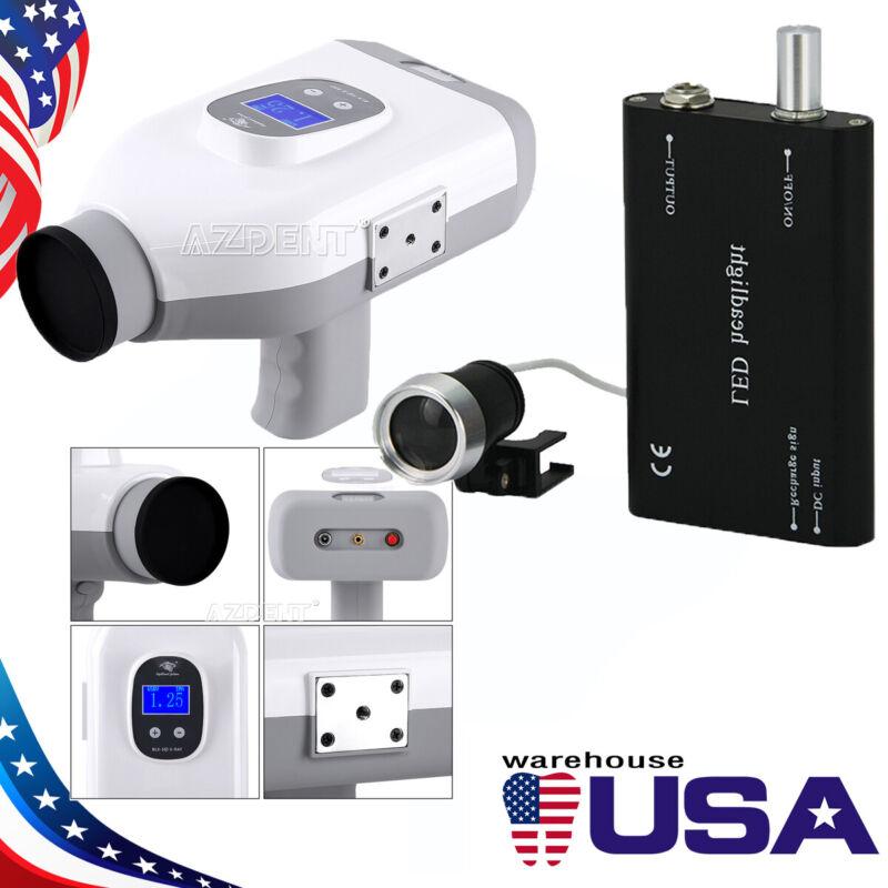 (USA) BLX-8+ Portable Dental X-Ray Machine Handheld Wireless + LED Head Light