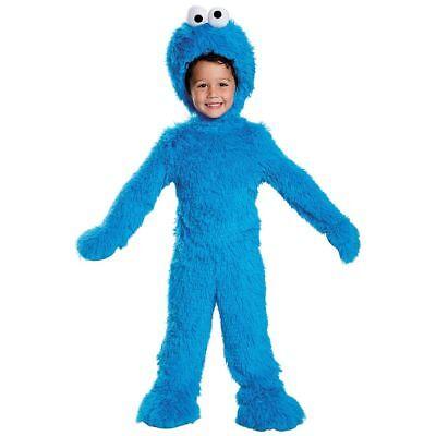 Cookie Monster Sesame Street Infant Toddler Child Kids Disney Jumpsuit Costume