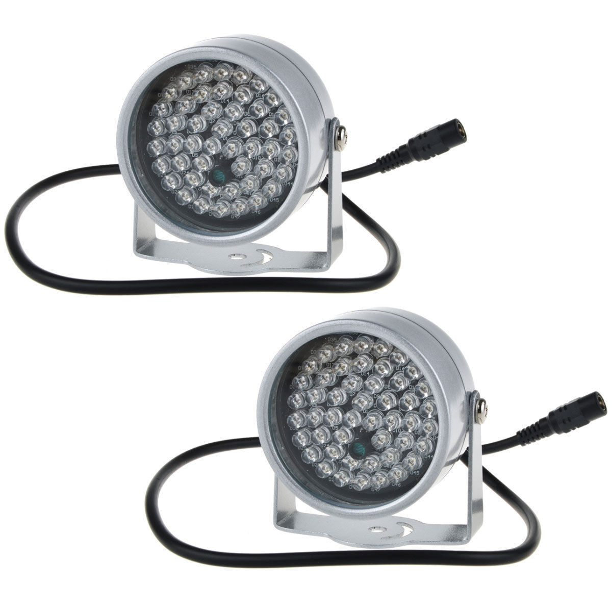 2pcs 48 LED Illuminator IR Infrared Night Vision Light for S