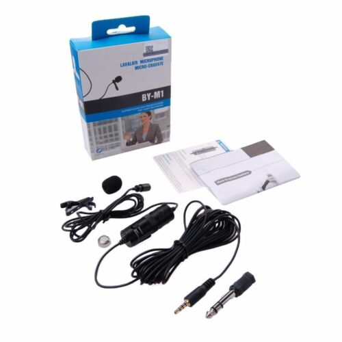 BOYA BY-M1 Omnidirectional Lavalier Microphone for Olympus Pentax Sony DSLR