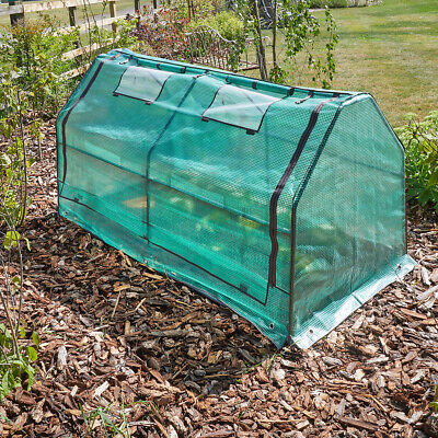 GroZone Max Cloche Outdoor Plants Shelter Cold Protection Garden Green New UK