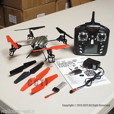WLToys V959 2.4G Quadcopter UFO WL Toys RTF with Camera (2 Batteries)-US hoard