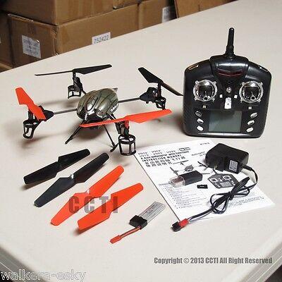 WLToys V959 2.4G Quadcopter UFO WL Toys RTF with Camera (2 Batteries)-US inventory