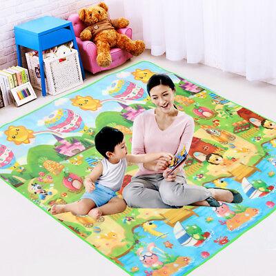 Baby Crawl Mat Toddler Activity Creeping Multipurpose Kids Floor Play Carpet USA
