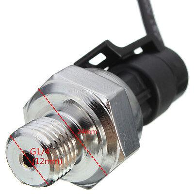 "G1/4"" inch 5V 0-1.2 MPa Pressure Transducer Sensor Oil Fuel Diesel Gas Water Air"