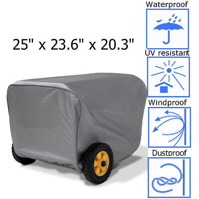 Generator Storage Cover For Champion Portable Weather-resistant Dustproof 25