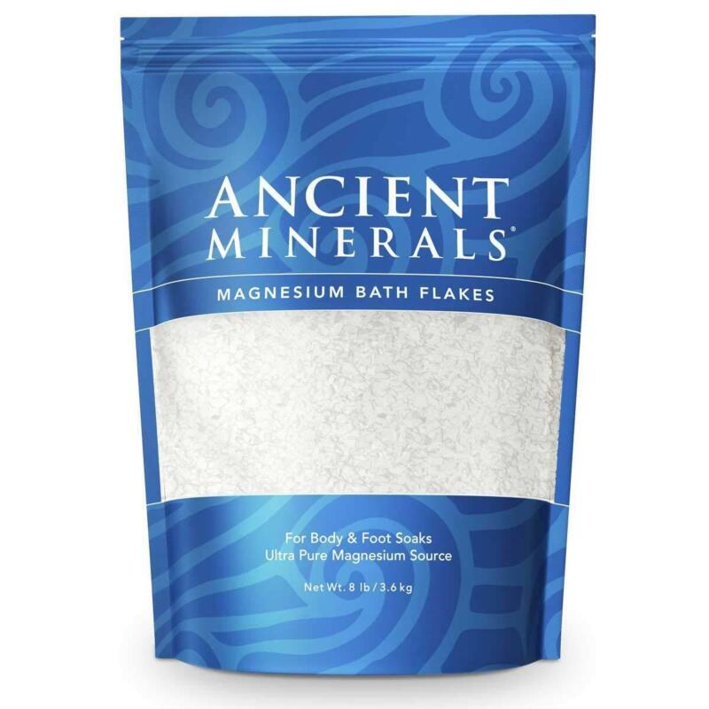 Ancient Minerals Magnesium Bath Flakes of Pure Genuine Zechstein Chloride -