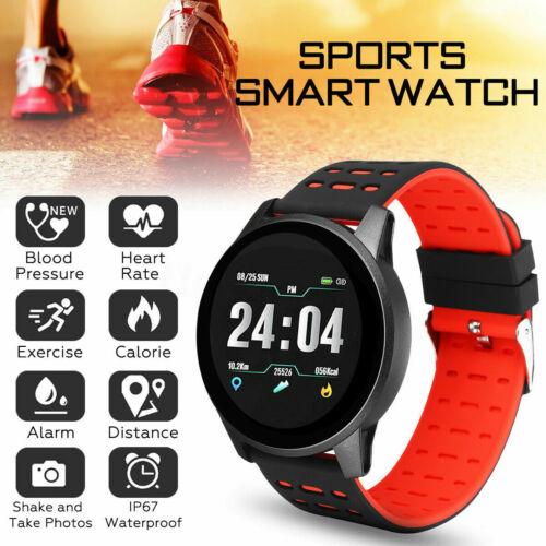 Bluetooth Smart Watch Heart Rate Oxygen Blood Pressure Sport
