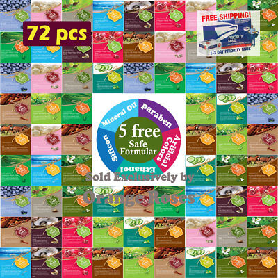 {Entel}  72 Combo-Pack, Premium Korean Essence Mask Sheet, Five Chemical Free