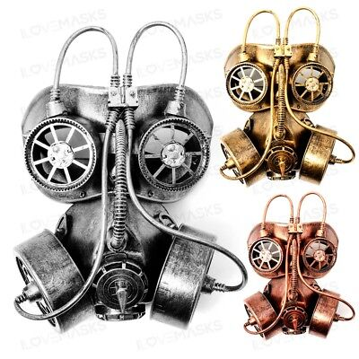 Steampunk Goggles Gas Mask with Led Light For Cosplay Steampunk Costume - Costumes With Led Lights