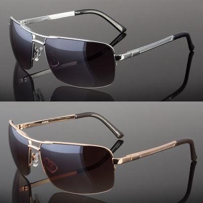 New Men's Classic Sunglasses Metal Driving Glasses Aviator Outdoor Sports - Aviator Glasses