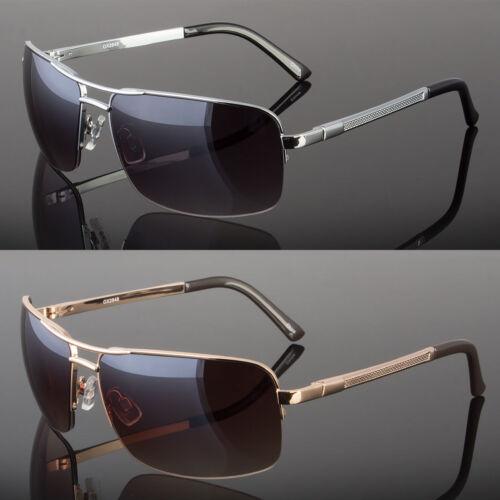 New Men's Classic Sunglasses Metal Driving Glasses Aviator O